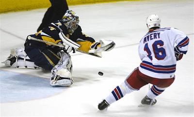 Rangers znovu nestačili na Buffalo