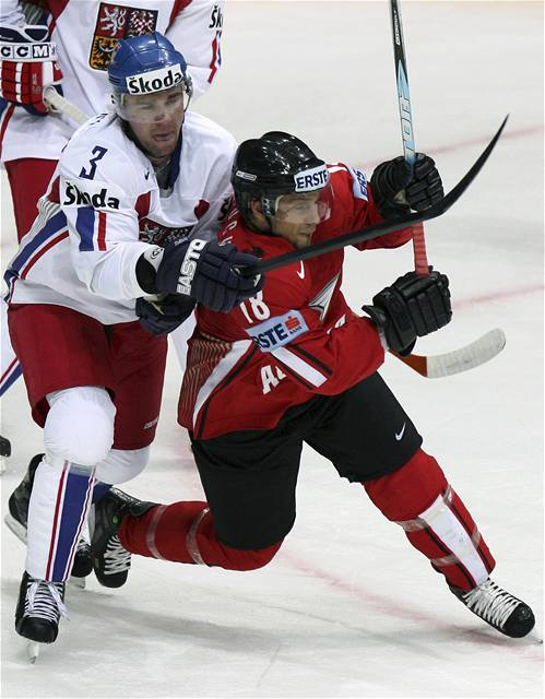 Hokejisté porazili Rakousko 6:1