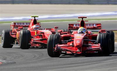 Ferrari zazářilo na Velké ceně Turecka