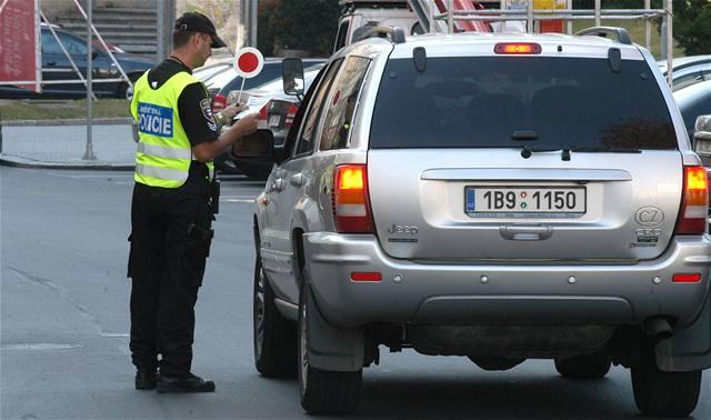 Policisté chystají zátah na řidiče