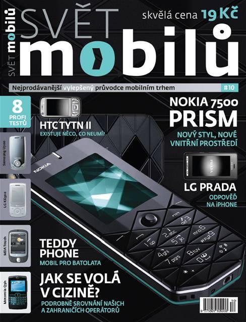 Říjnový Svět mobilů v prodeji