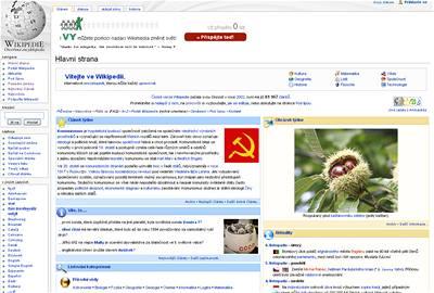 Česká Wikipedia má přes 100 000 článků