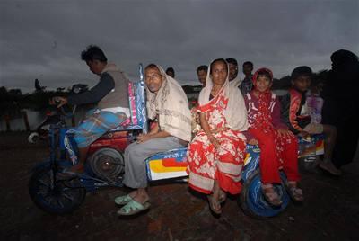 Cyklon Sidr zpustošil Bangladéš
