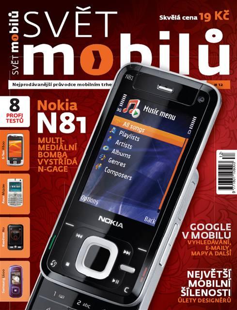 Prosincový Svět mobilů v prodeji
