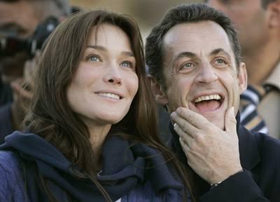 Jak Sarkozy 'lovil' Carlu