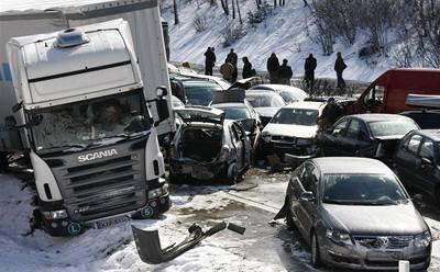 ´Dálniční nehodu způsobili všichni´