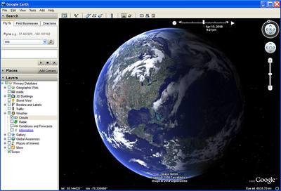 Google Earth zobrazí i mapy mořského dna