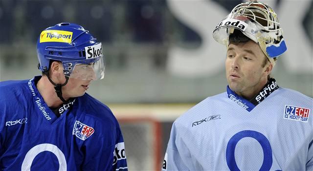 Čeští hokejisté se sešli kompletní