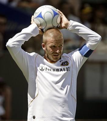 Fanoušci chtějí Beckhama za trenéra