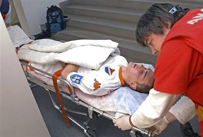 Řezník byl propuštěn z nemocnice