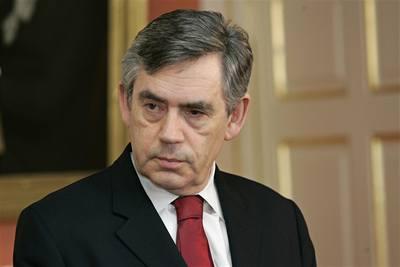 Těžké časy pro Gordona Browna