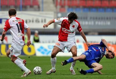 Slavia ztrácí na Spartu už jen bod