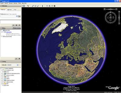 Mapy na internetu i v mobilu