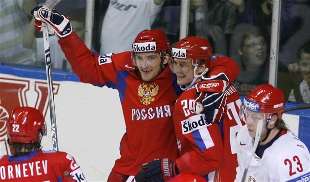 Rusové zdolali Bělorusy až po nájezdech