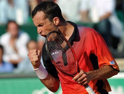 Štěpánek v Římě porazil Federera