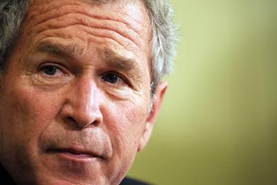 Bush se setkal s čínskými disidenty