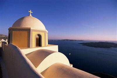 Santorini: Bájná Atlantida v Egejském moři