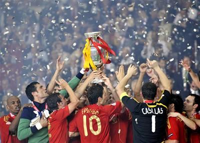 Španělsko je mistr Evropy