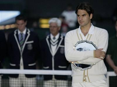Federer těžce překonává zklamání