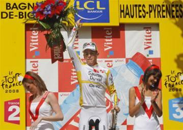 Ricco vyhrál další etapu na Tour