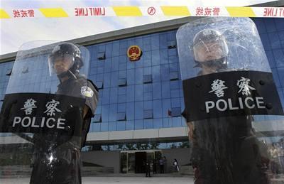 Čína má strach z teroristů