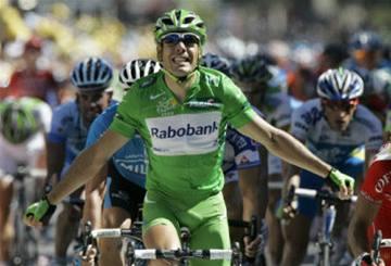 Freire vyhrál poslední spurt před Alpami