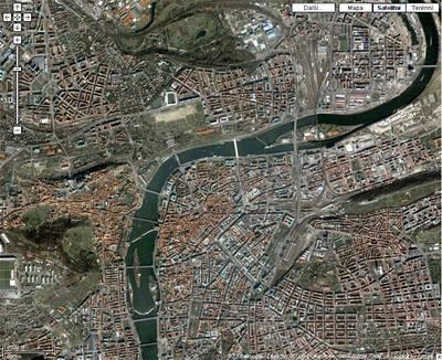 Google Earth: lepší pokrytí ČR