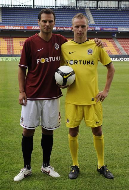 Rudá Sparta ve žlutých dresech