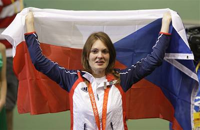 První zlato pro Česko vybojovala Emmons