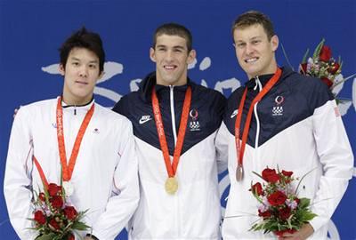 Plavec Phelps má deváté olympijské zlato