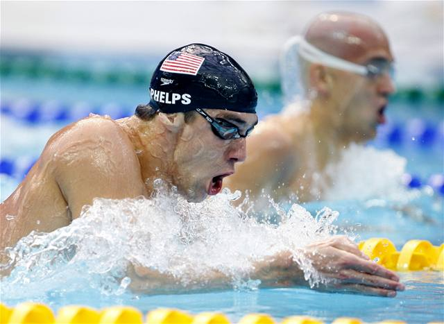 Phelps po šesté dohmátl pro zlato