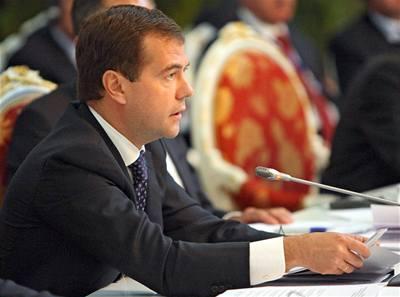 Medveděv: Spor o plyn už není jen rusko-ukrajinský