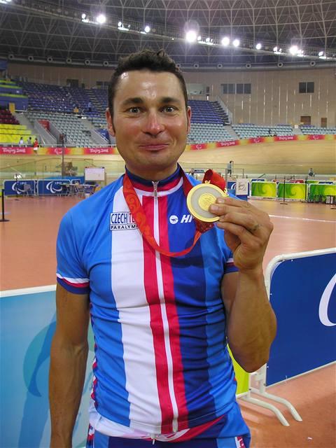 Cyklista Ježek získal druhé české zlato