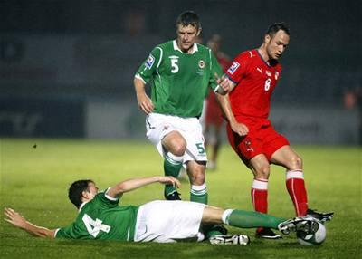 Češi se Severním Irskem pouze remizovali 0:0