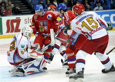 Ruský tisk opěvuje české hokejisty
