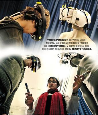 Virtuální realita přelstí mysl