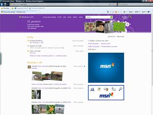 Windows Live Homepage