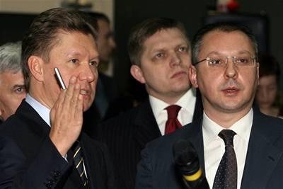 Gazprom nabídl Slovensku plyn