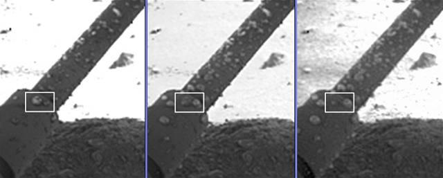 Na Marsu je kapalná voda. Slaná