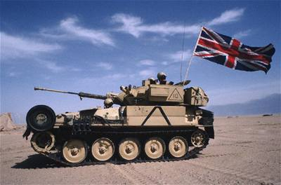 Opilý britský voják naboural v Německu dva tanky