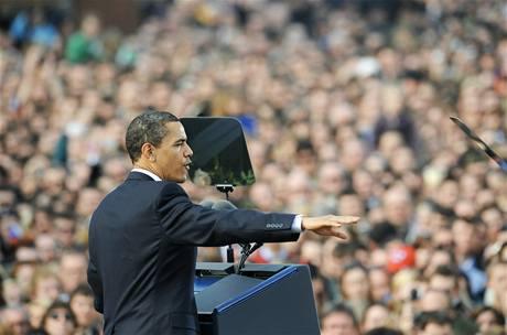 USA se k vám neobrátí zády, slíbil Obama