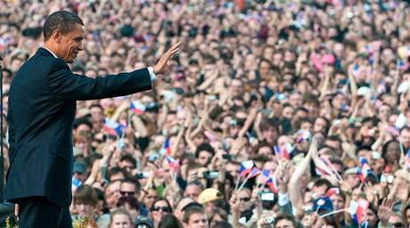 Projev amerického prezidenta Obamy v Praze