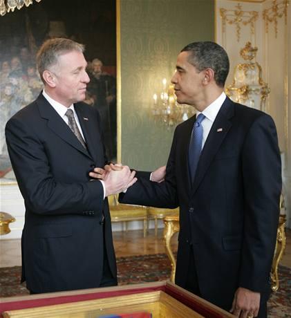 Topolánek: Obama přijel kvůli Havlovi