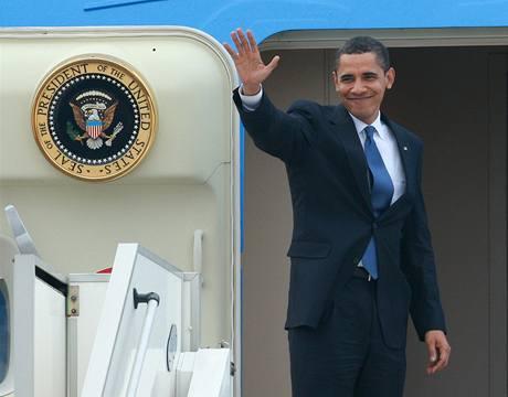 Obama Česku zamával