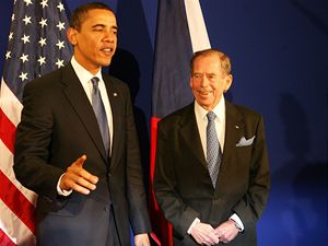 Barack Obama a Václav Havel
