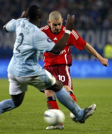 Jarolímův Hamburk si poradil s Manchesterem City