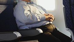 Air France vrátí příplatky obézním lidem na nevytížených linkách