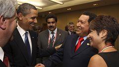 'Chci být tvým přítelem,' řekl Chávez Obamovi