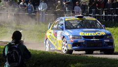 Šumava rallye vyhrál po dramatickém závěru Pech