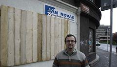 V Ústí čekají nejhorší, lidé zatloukají obchody